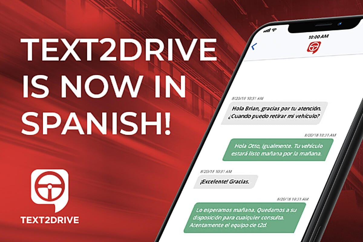 TEXT2DRIVE is now in Spanish!