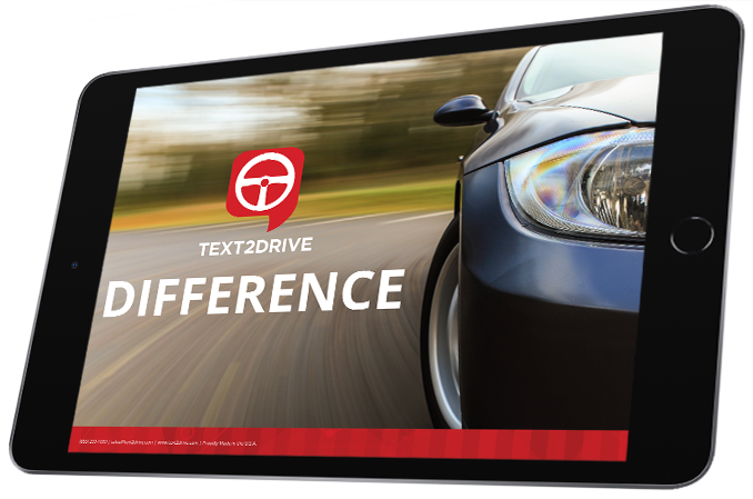 text2drive difference ebook cover