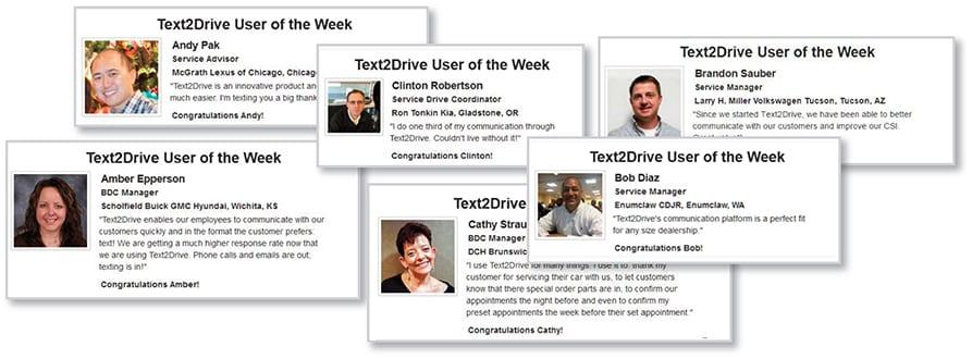 text2drive reviews collage better csi scores