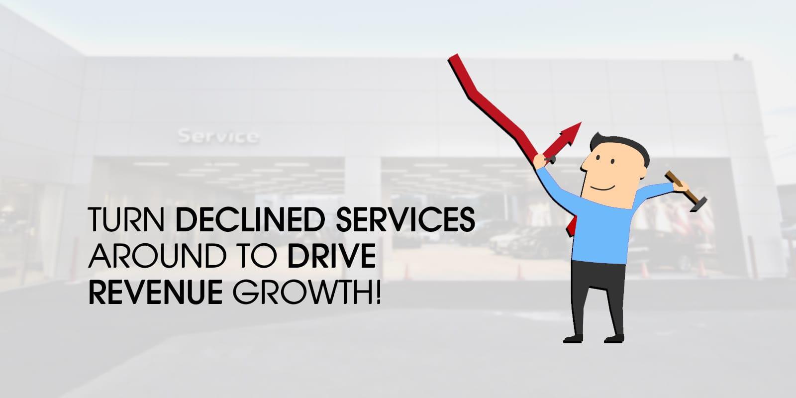 convertir los servicios rechazados en ingresos para su departamento de servicio